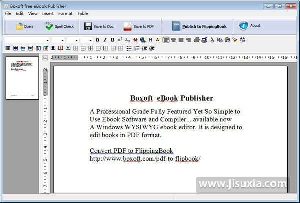 Boxoft Free eBook Publisher官方版