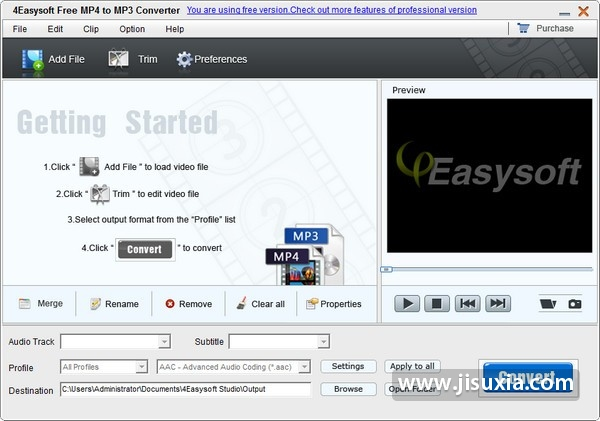 4Easysoft,Free,MP4,to,MP3,Converter